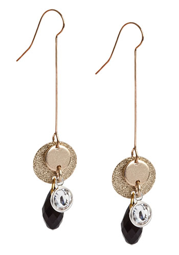 Petite Coin Earring