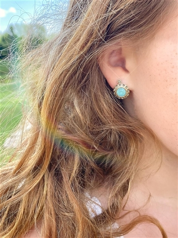 Prism Sea Post Earring