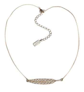 Spring Leaf Necklace