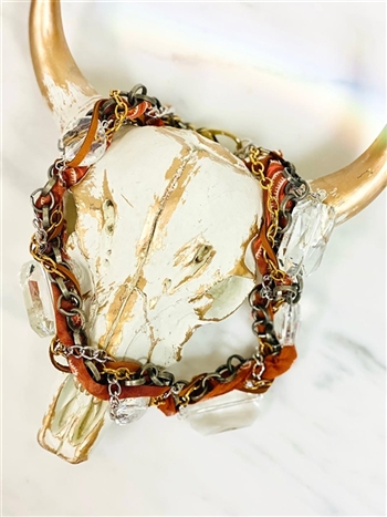 Twisted Bandana Necklace