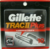 Gillette Trac II Plus Lubrastrip 10 Cartridges