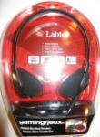 Labtec Gaming/jeux Behind the Head Headset