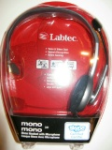 Labtec Mono 341 Headset with Microphone