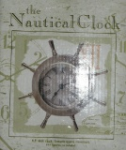 The Nautical Clock - 6.5'' Desk Clock features Quartz Movement