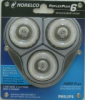 NORELCO QUADRA7 HQ55 PLUS REPLACEMENT HEADS