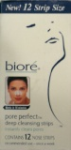 Biore Pore Perfect Deep Cleansing Strips 12 Nose Strips