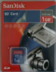 Sandisk SD Card Multi-Use 1 GB