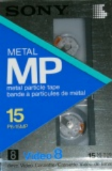 Sony Metal Video 8 P6-15MP Cassette