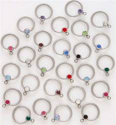 Add a Charm Captive Bead Ring