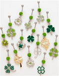 Clover Dangle Belly Ring