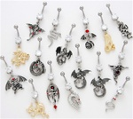 Dragon Dangle Belly Ring