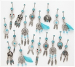 Dream Catcher Dangle Belly Ring