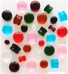 Facet Cut Crystal Plugs