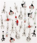 Halloween Dangle Belly Ring