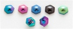 Titanium Anodized Bolt Dermal Top 10 Pack