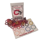 Captain O-Ring 3x Colored Oring Kit