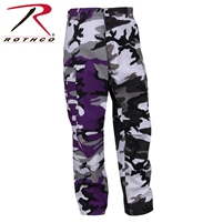 Rothco Two-Tone BDU Pants - Ultra Violet Purple / City - 2XL