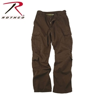 Rothco Vintage Paratrooper Fatigue Pants - Brown - 2XL
