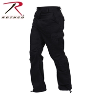 Rothco Vintage Paratrooper Fatigue Pants - Black - 2XL
