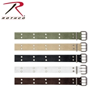Rothco Vintage Double Prong Buckle Belt - Khaki
