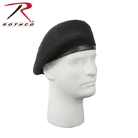 Rothco G.I. Type Inspection Ready Beret - Black