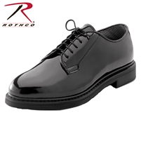 Rothco Uniform Hi-Gloss Oxford Dress Shoe - Regular