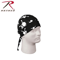 Rothco Digital Camo Headwrap- Skull & Crossbones