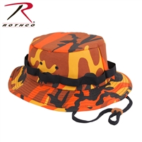 Rothco Camo Jungle Hat - Savage Orange
