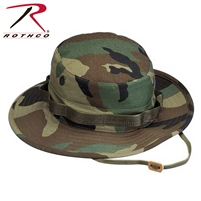 Rothco Camo Boonie Hat - Woodland