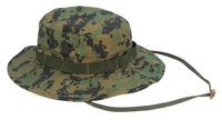 Rothco Digital Camo Boonie Hat - Digital Woodland