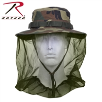 Rothco Boonie Hat w/ Mosquito Netting - Woodland
