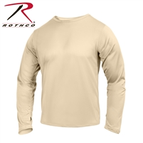 Rothco Gen III Silk Weight Underwear Top - Desert Sand - 2XL