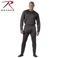 Rothco Gen III Silk Weight Bottoms - Black - 3XL