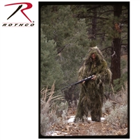 Bushrag Ultralight Ghillie Jacket and Pants - Woodland XL/2XL