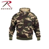 Rothco Camo Pullover Hooded Sweatshirt - Woodland