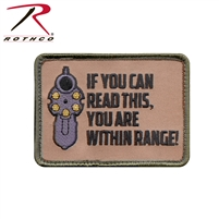 Rothco If You Can Read This Patch