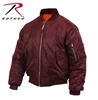 Rothco MA-1 Flight Jacket-Maroon