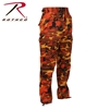 Rothco Color Camo Tactical BDU Pant - Savage Orange Camo