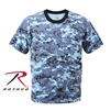 Rothco Digital Camo T-Shirt - Sky Blue