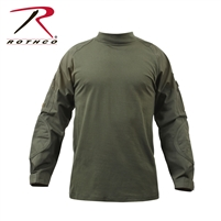 Rothco Military FR NYCO Combat Shirt - Woodland Digital