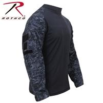 Rothco Military FR NYCO Combat Shirt - Midnight