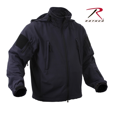Rothco Special Ops Tactical Soft Shell Jacket - Midnight Blue