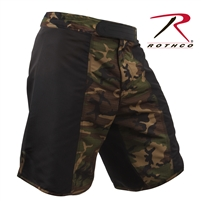 Rothco MMA Fighting Shorts - Woodland