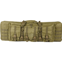 "Valken Tactical 36"" Double Rifle Tactical Gun Case - Tan"