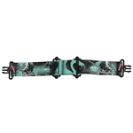 Virtue Vio Goggle Strap - DragonSlayer Aqua Black