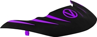 Virtue Vio Stealth Visor - Black / Purple