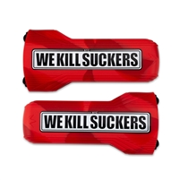 Bunker Kings Evalast Barrel Sock - We Kill Suckers - Red
