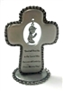 "3"" Baby Boy Cross with Dangle Charm JC-2214-E"