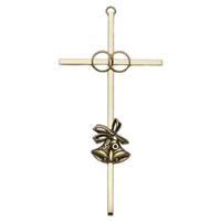 Gold 50th Anniversary Wedding Cross
