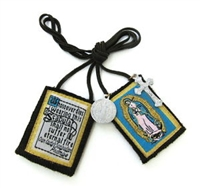N: Our Lady of Guadalupe Brown Scapular